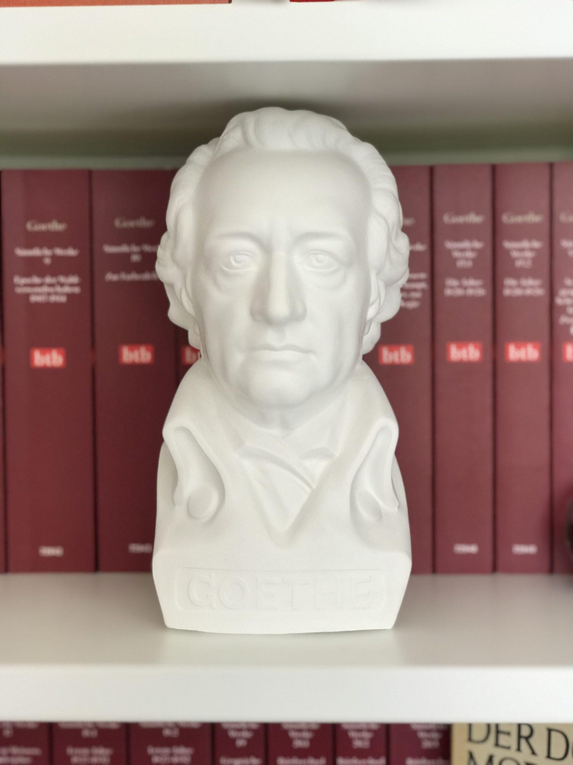 Goethe ist der Sidekick bei Teresa